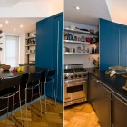 Modern Black Counter Top Apartment Ideas