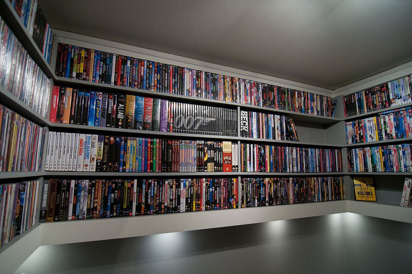 Dvd Shelf Designs