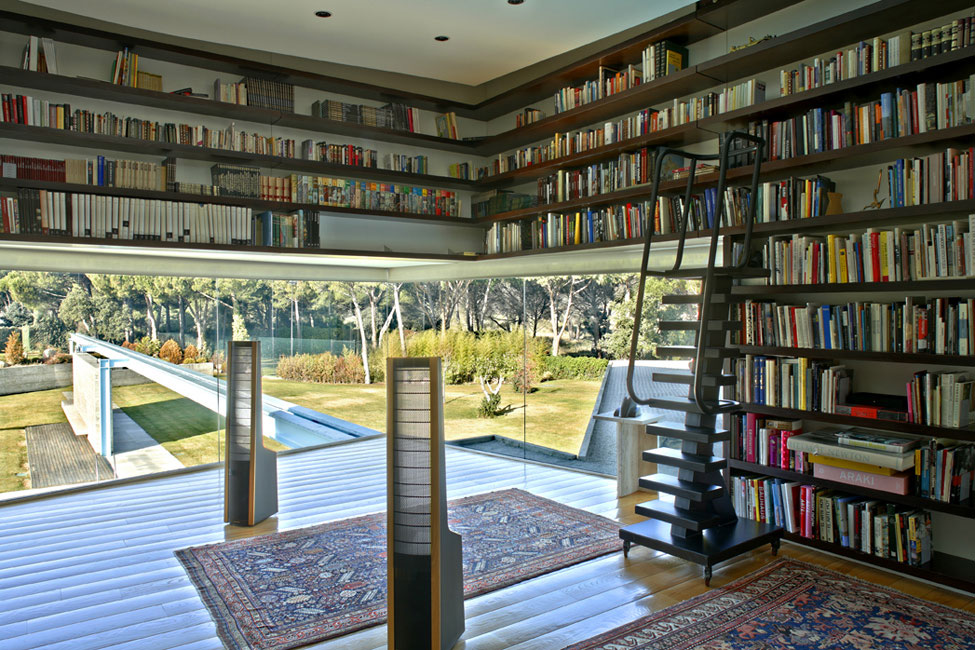 modern the library house 2012 design interior design ideas