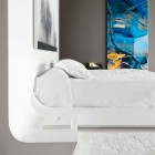 Modern White Bedroom Furniture Inspirations