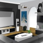 New Design Home Entertainment System Sketch up Design 2012