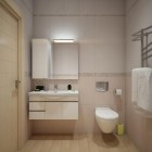 Simple and Practical Bathroom Design 2012