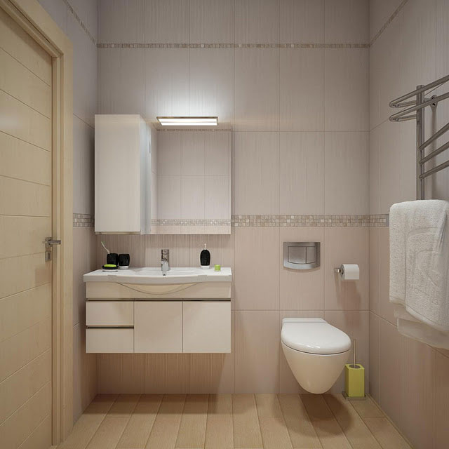 Simple and practical bathroom design 2012 interior for Simple bathroom layout