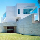 White Geometrical Exterior Inspirations