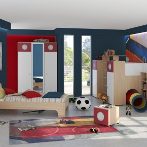 A Spacious Kids Bedroom Design Ideas