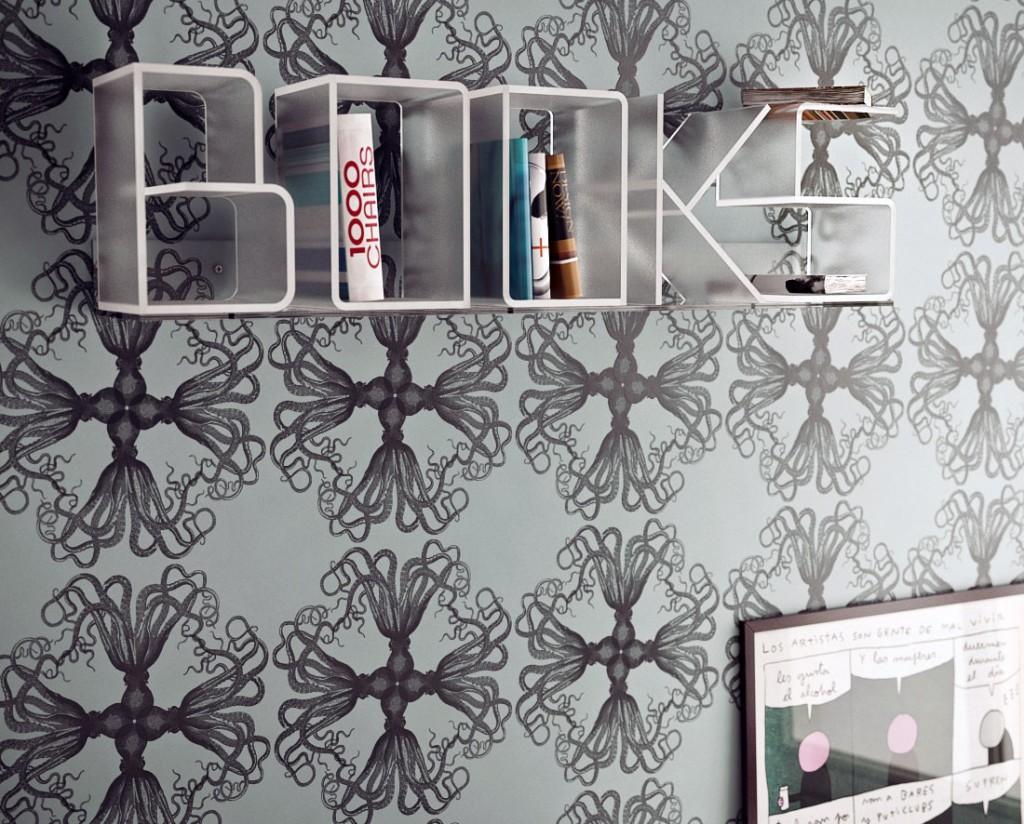 Acrylic Hanging Book Shelves Design