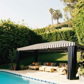 Awesoeme Pool Cream Black Cabana Ideas