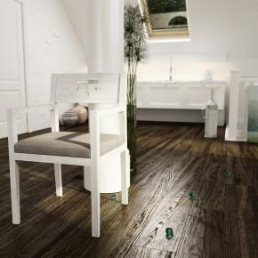 Classic Art Room with Wooden Floor Ideas
