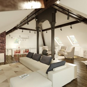 Classic Loft Design Inspirations
