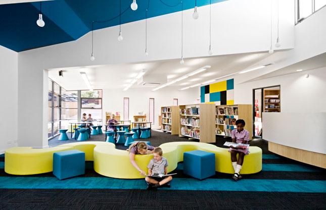 Modern And Colorful Elementary School Interiors Interior Design Extraordinary Furniture Design School Interior