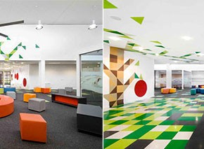 Colorful Learning Room Design Ideas