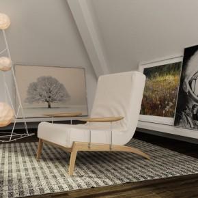 Cool Loft Art Room Design Ideas