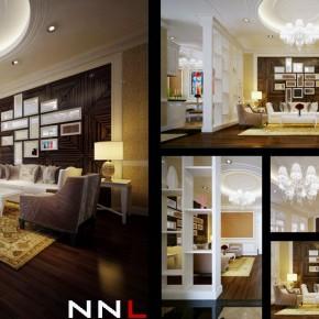 Creative and Minimalist Living Room Divider