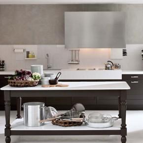 Dark Wood Classical Kitchen Design Inspirations