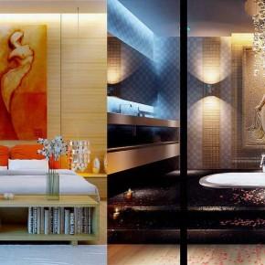 Japan Bedroom Design and Sunken Bath Ideas