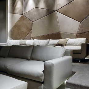 Luxurious Living Room with Beige Couch