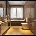 Luxury Bathroom With Wonderful Tiling Ideas