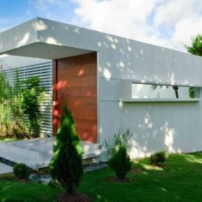 Minimalist White House Carqueija Design Ideas