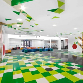 Modern Design Elementary Floor Ideas