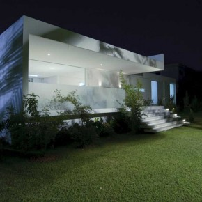 Modern White Tropical House Design Brazil
