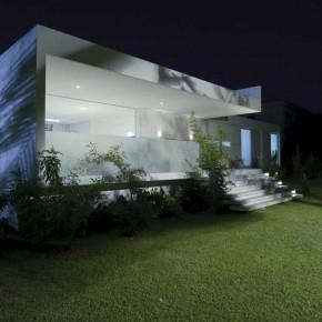 Modern White Tropical House Design Brazil