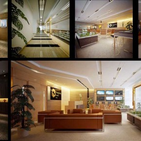 Modern and Luxury office Space Design Ideas