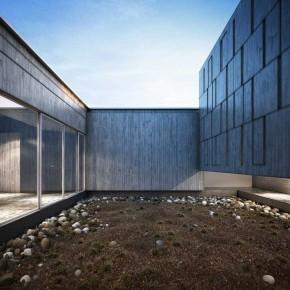Modern and Minimalist Design Courtyard