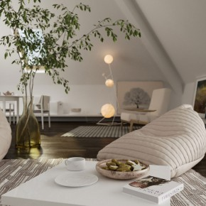 Natural Artwork Room Inspirations