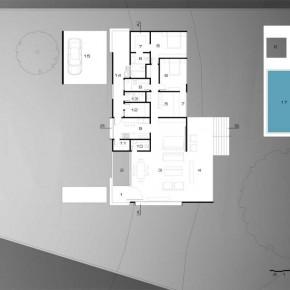 Sketch Design of House Carqueija