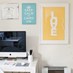 Stylist Work Space Design For Teen