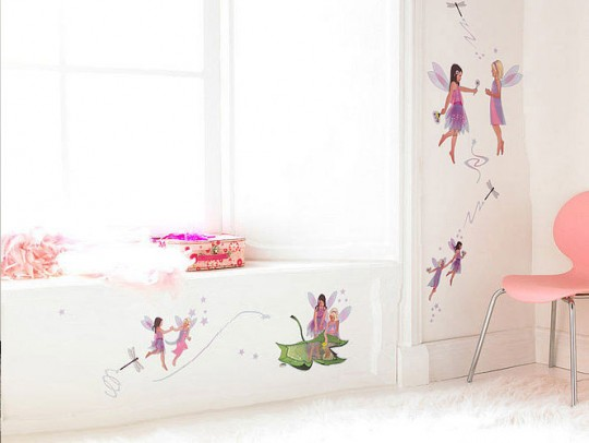 Sweet Fairy Wall Stickers Decor