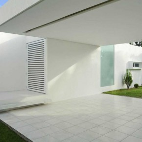 Tropical Cool White House Brazil