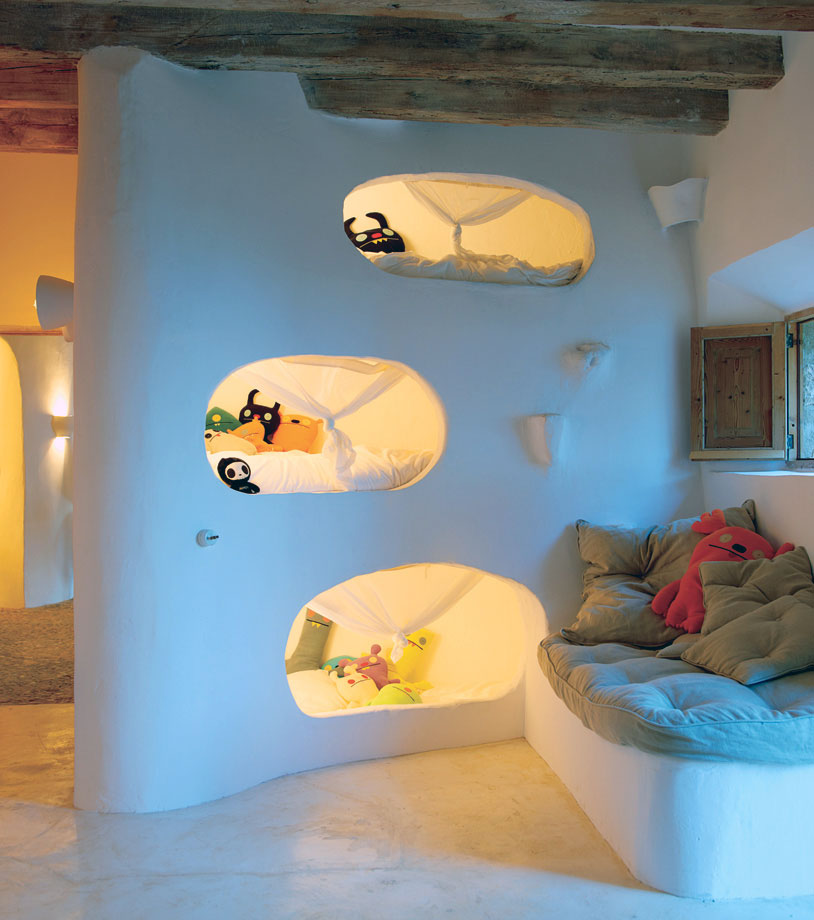 Unique Kids Bedroom Cave House