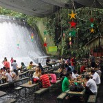 Beautiful Waterfall Restaurant