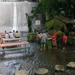 Beautiful Waterfall View Villa Escudero Restaurant