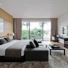 Black White Neutral Bedroom Design Ideas
