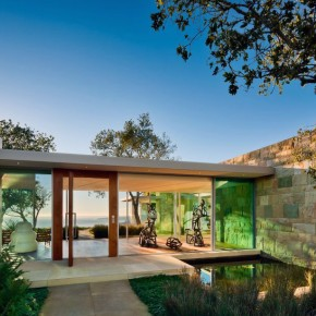 Modern Carpinteria Foothills Residence Design