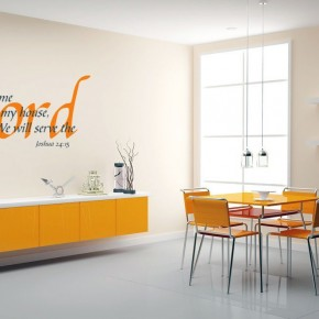 Bright Color Religious Wall Sticker