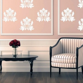 Classic Fleur De Lis Wall Stickers Ideas
