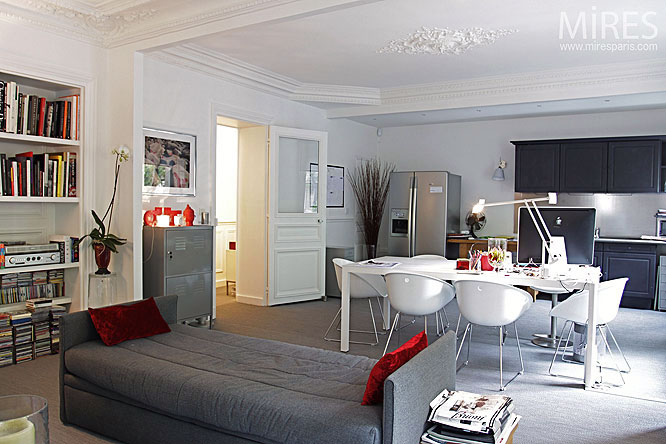 bedroom, living room and dining room in one | Living room ...