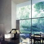 Elegant Living Space Garden Views