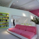 Fancy Pink With Sofa Design