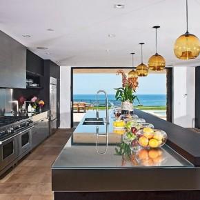 Glass Table Countertop Design