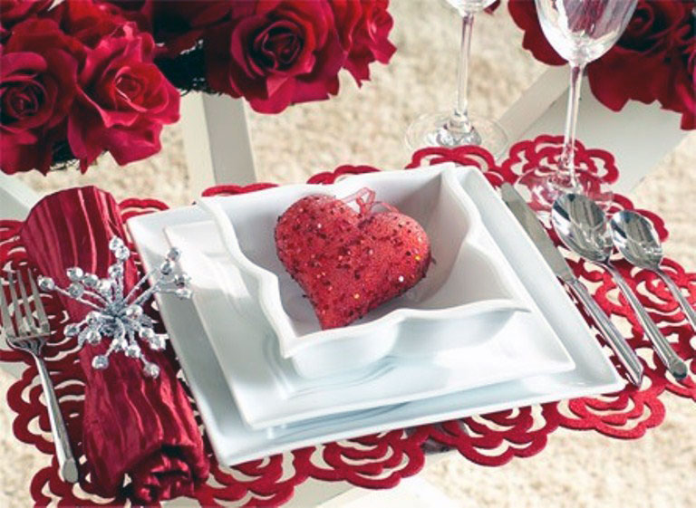 Heart Shape Decor for Valentine Day