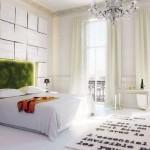 Inspiring Nature Bedroom Moss Headboard