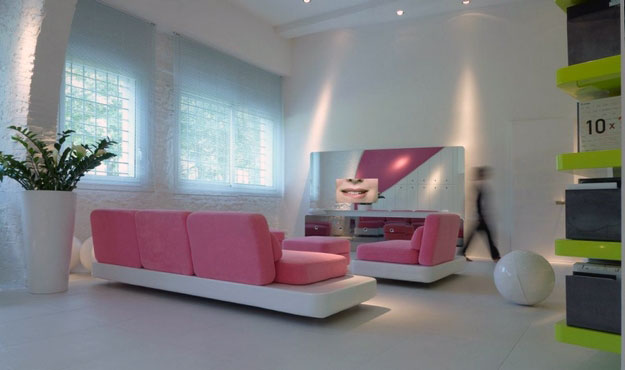 living room with pink furniture ideas interior design ideas. Black Bedroom Furniture Sets. Home Design Ideas