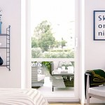 Minimalist White Bedroom with Terrace