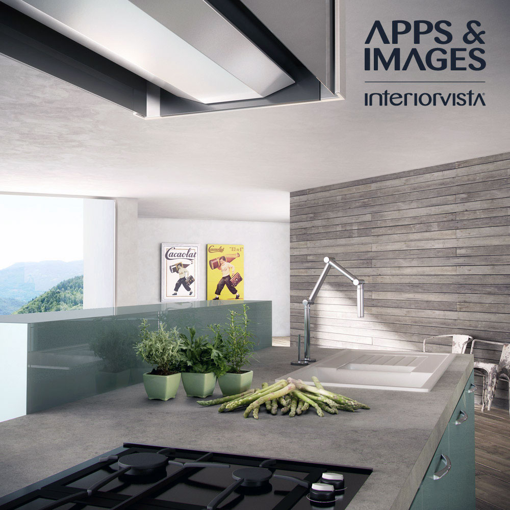 Wood Wall Decor For Kitchen : Contemporary kitchens collection from cuisines morel