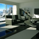 Modern Black White Living Room Decor