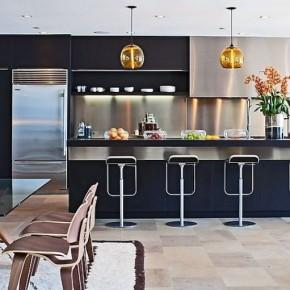 Modern Kitchen Furniture and Mini Bar Decor